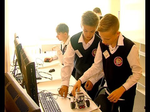 Торжественное открытие мини технопарка в школе №17
