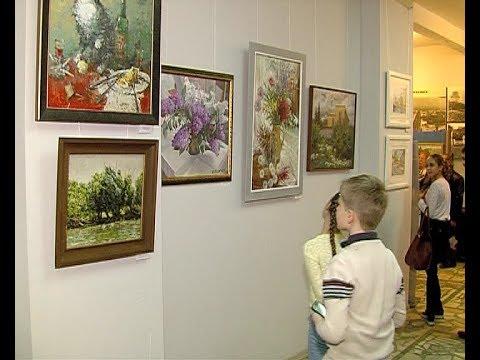 Выставка художников в Историко-художественном музее