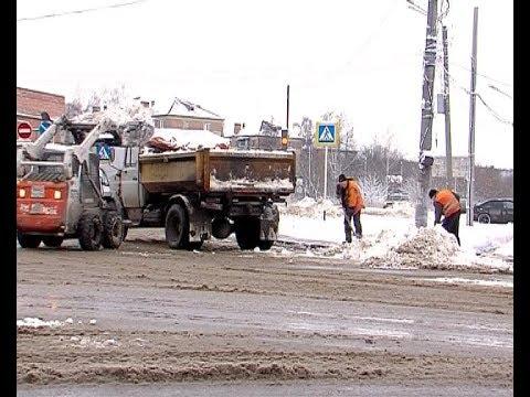 Совещание – уборка дворов от снега