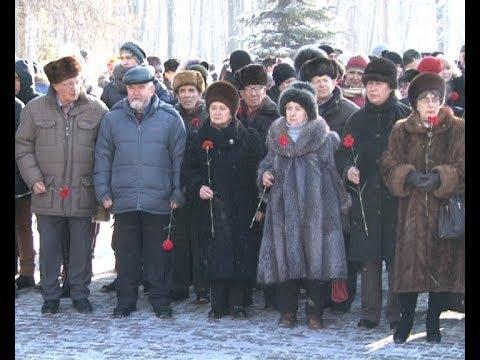 Митинг и возложение ко Дню Защитников Отечества