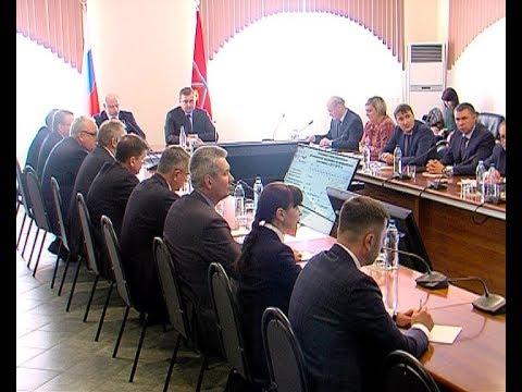 Губернатор Алексей Дюмин с рабочим визитом посетил Новомосковск
