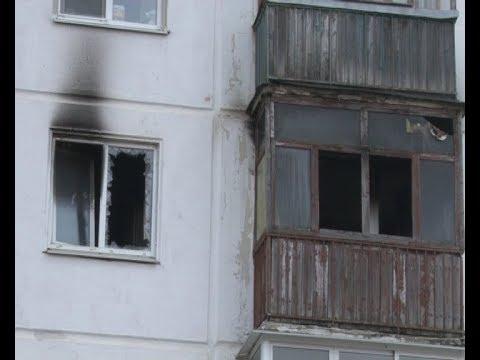 В одной из квартир пятиэтажного дома произошел пожар
