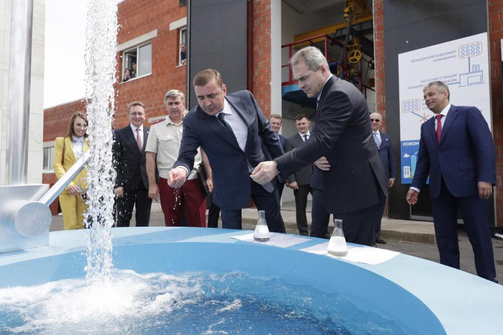 Алексей Дюмин принял участие в запуске проекта «Большая вода»