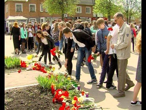 В микрорайоне Сокольники почтили память павших в ВОВ