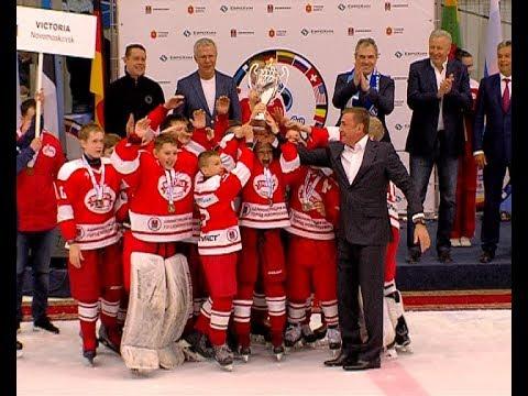 Закрытие Международного детского хоккейного турнира