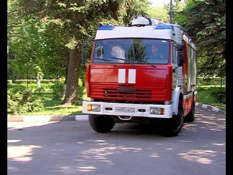 Пожарная служба МЧС отработала тактико-технические учения