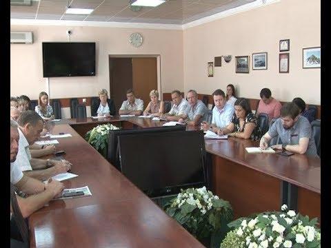 Алексей Бирюлин провел рабочую встречу с руководителями управляющий компаний