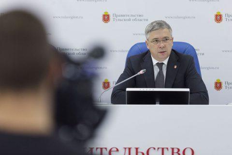 Андрей Третьяков рассказал о проектах по развитию здравоохранения Тульской области