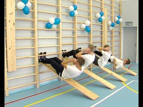 Открытие спортивного зала в школе №19