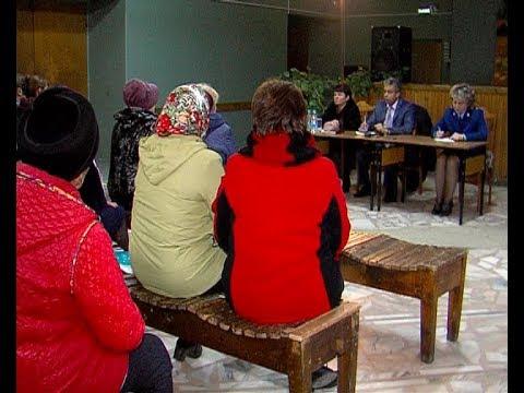 Глава администрации встретился с жителями села Спасское