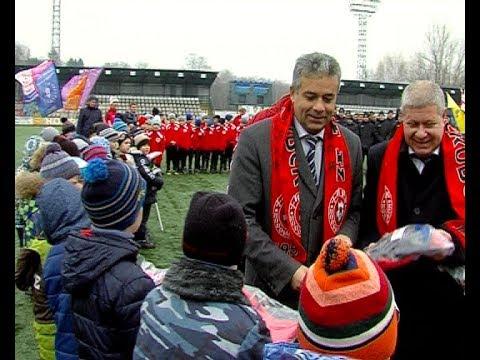 Торжественное закрытие футбольного сезона