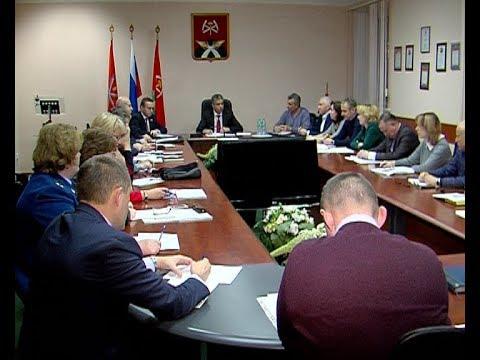 Заседание КЧС и антинаркотической комиссии