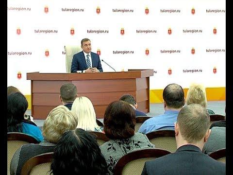 Пресс-конференция Алексея Дюмина