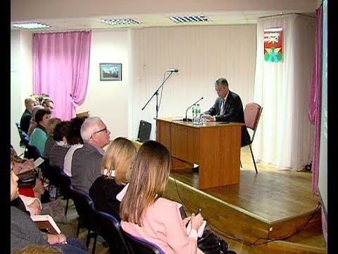 Встреча главы администрации с общественниками