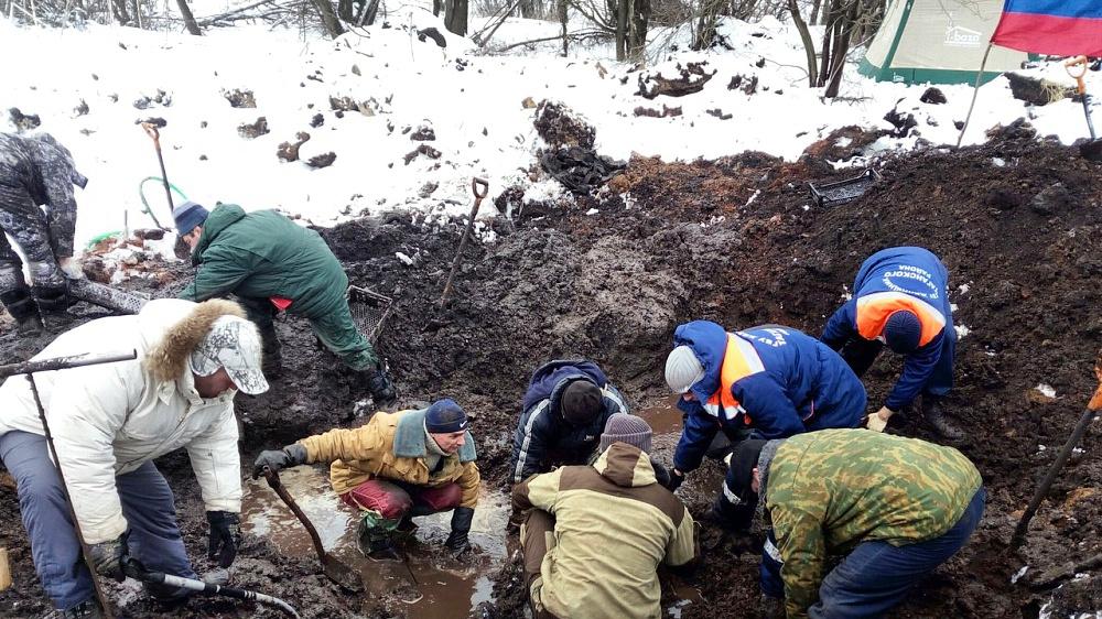 В Ново-Яковлевке продолжаются поисковые работы