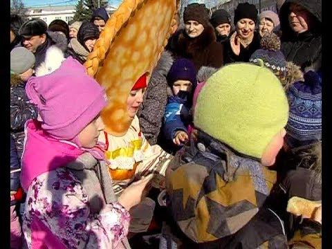 Анонс Широкой Масленицы в Новомосковске