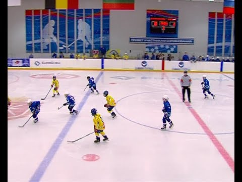 Подготовка к хоккейному турниру на кубок компании «ЕвроХим»