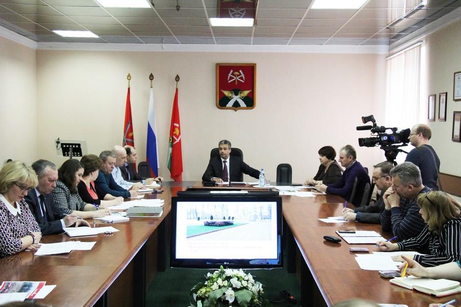 В администрации состоялось совещание по подготовке к майским праздникам