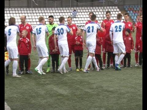 Новомосковский «Химик» на родном поле встретился с брянским «Динамо»