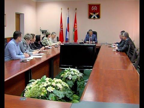Глава администрации Вадим Жерздев провел пресс-конференцию