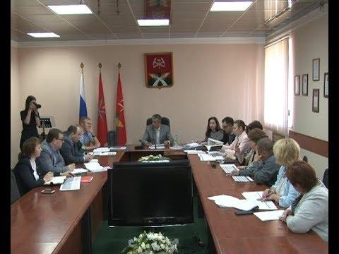 В администрации обсудили подготовку к ремонту социальных объектов