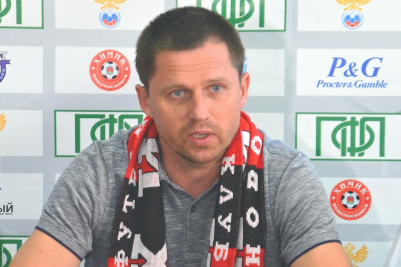 Игорь Семшов – главный тренер новомосковского «Химика»
