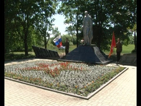 Открытие мемориального комплекса в деревне Ново-Яковлевка