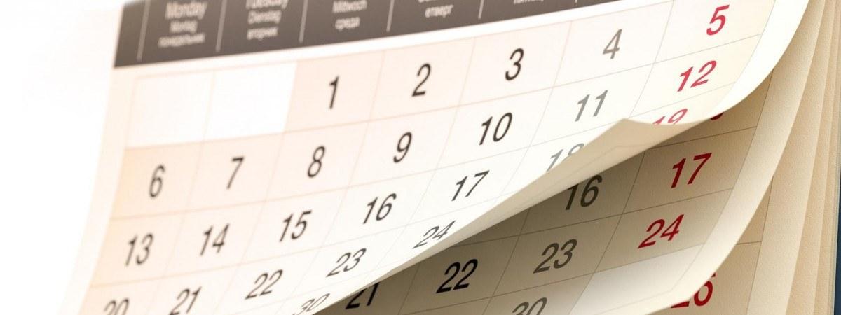 Разработан порядок переноса выходных дней в 2019 году