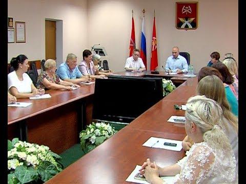 Алексей Бирюлин встретился с членами ТОСов