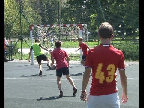 Соревнования по дворовому футболу