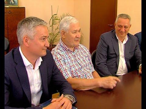 Алексей Бирюлин встретился с Владимиром Юрзиновым