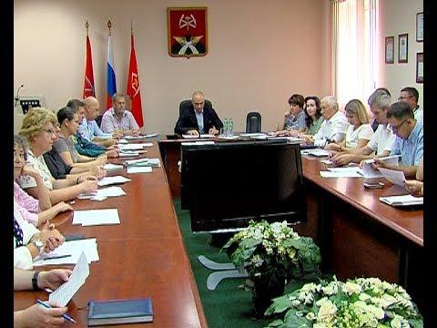 Заседание организационного комитета по выборам
