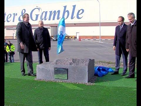 Алексей Бирюлин принял участие в закладке камня под строительство