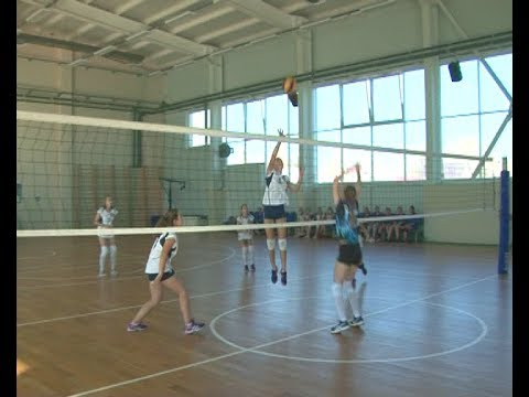 Школьная спортивная лига по волейболу