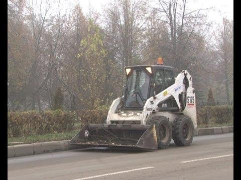 Как в Новомосковске идет уборка дорог