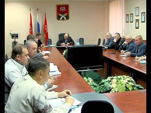 Алексей Бирюлин провел совещание с коммунальщиками