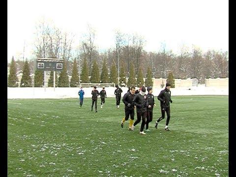 Новомосковские футболисты вышли из отпуска