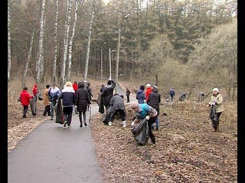 Новомосковцы приняли участие в первом в этом году субботнике
