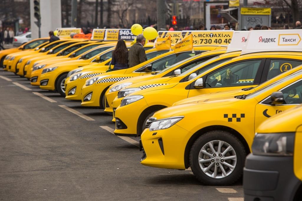 С 1 июля такси в регионе будут только желтого или белого цвета