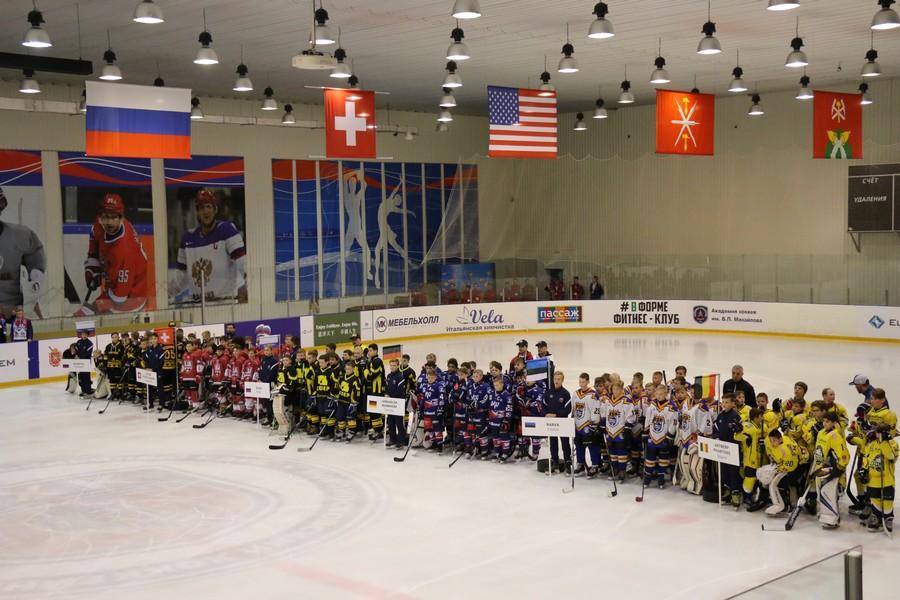 В Новомосковске стартовал международный детский хоккейный турнир на кубок «ЕвроХима»
