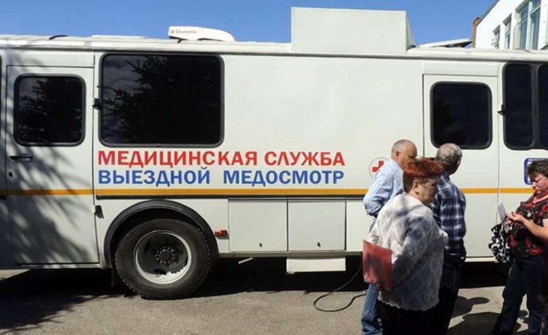 Медицинское обследование жителей в рамках проекта «Выездная поликлиника»