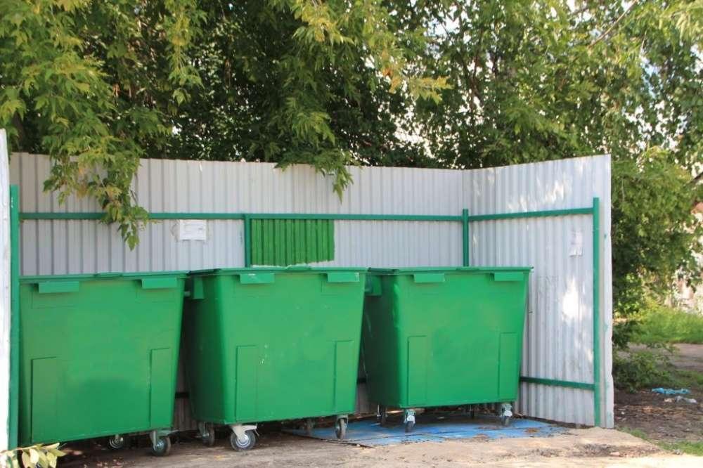 В Новомосковске построят новые  контейнерные площадки