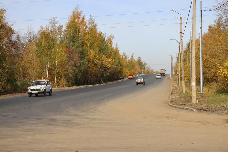 Реконструкция Комсомольского шоссе на стадии завершения