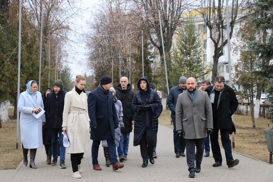 Благоустройство городской площади одобрено рабочей группой