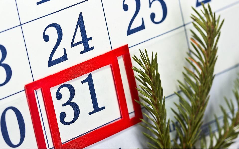 Законопроект о выходном дне 31 декабря внесли в Госдуму