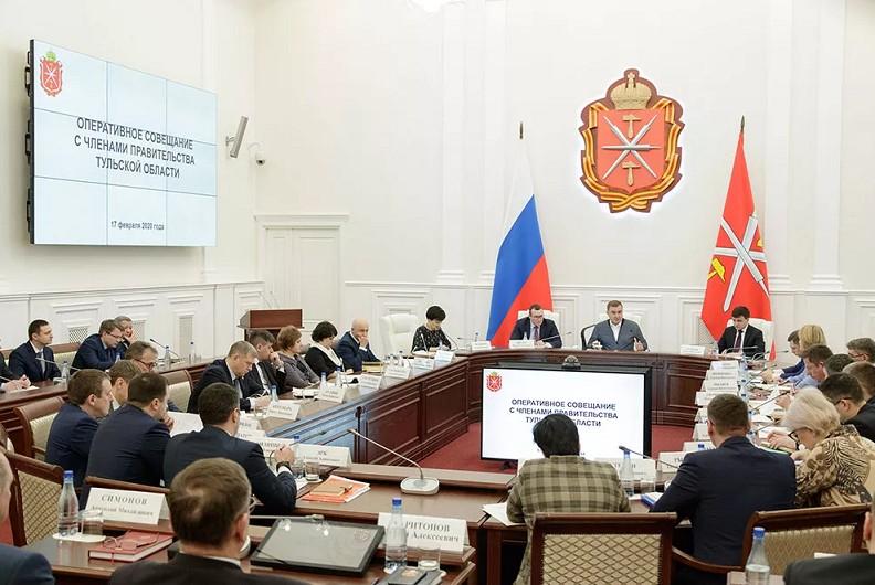 Алексей Дюмин проверил исполнение поручений по итогам выезда в Новомосковск