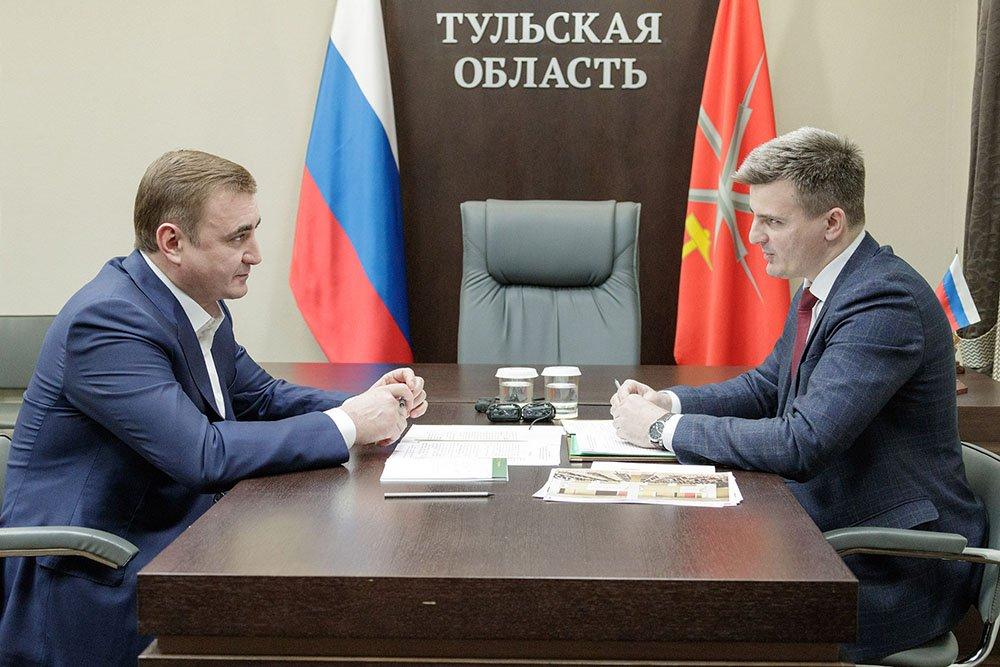 По поручению Алексея Дюмина в регионе разрабатывается пакет дополнительных мер поддержки малого и среднего предпринимательства