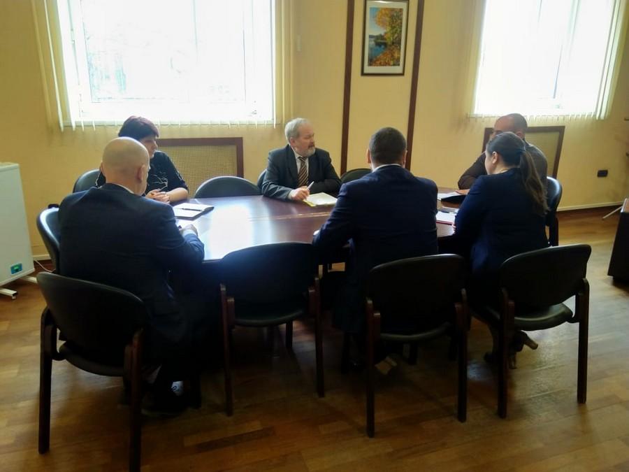 Заседание оперативного штаба по недопущению распространения коронавирусной инфекции