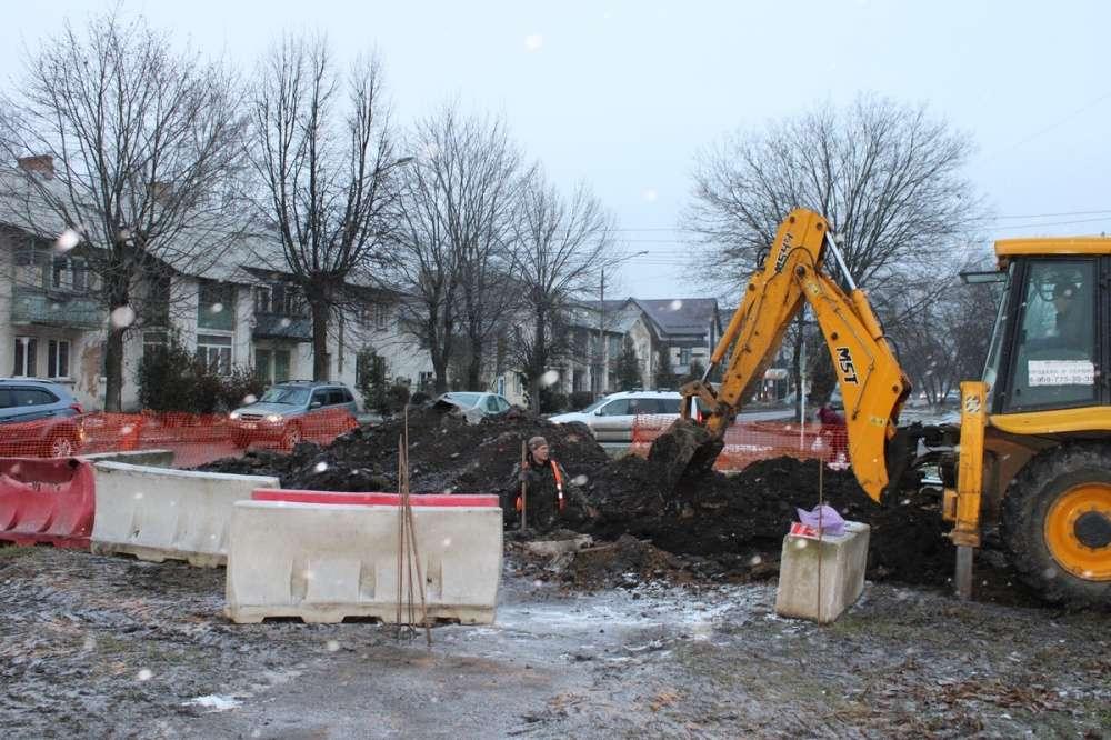 В Новомосковске продолжаются  строительство новой котельной
