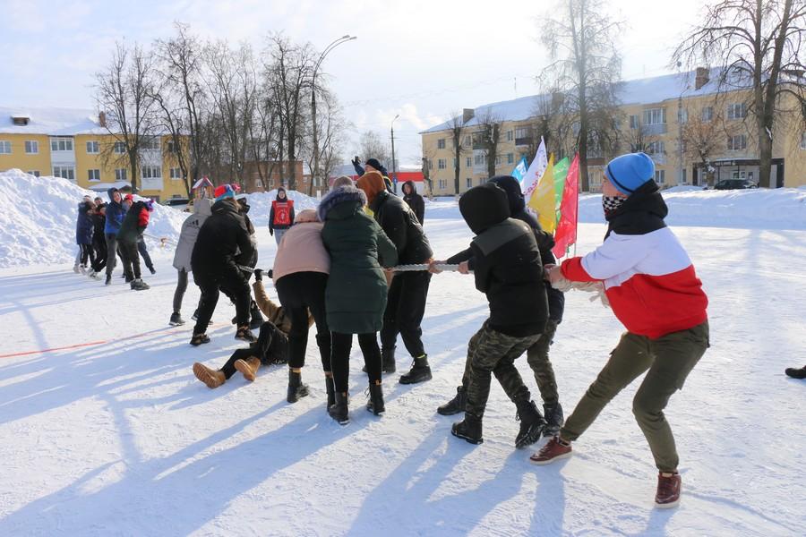 В Новомосковске состоялся фестиваль «Русская зима»